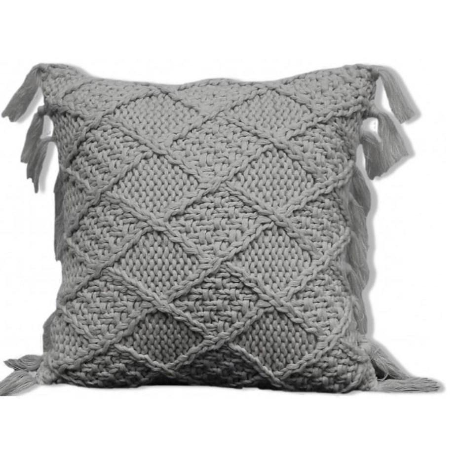 "Decorative Cushions Coachella 24"" Grey Cushion at Stoney Creek Furniture"