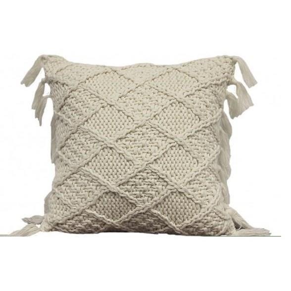 "Decorative Cushions Coachella Ivory 18"" Cushion at Stoney Creek Furniture"