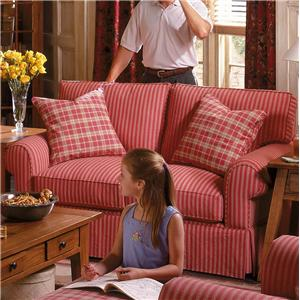 Alan White 37400 Two Over Two Casual Loveseat