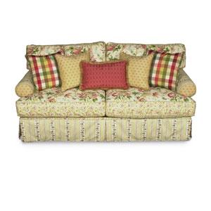 Alan White 696 Upholstered Stationary Sofa