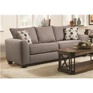 Full Loveseat Sleeper with Track Arms