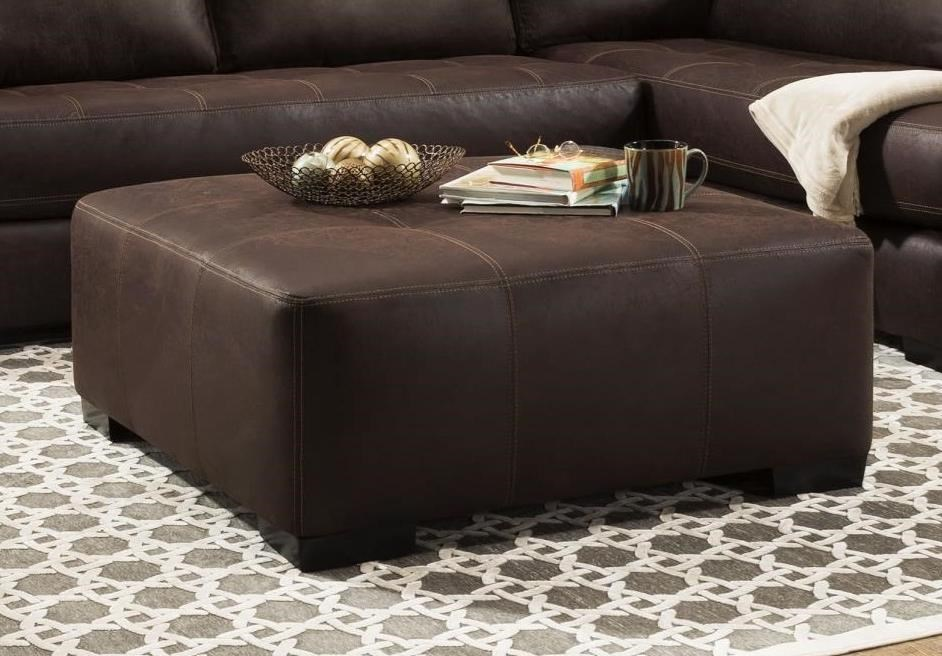 276 Cocktail Ottoman by Albany at A1 Furniture & Mattress