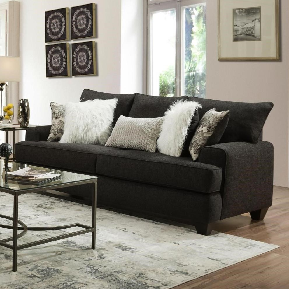 428 Queen Sleeper Sofa by Albany at A1 Furniture & Mattress