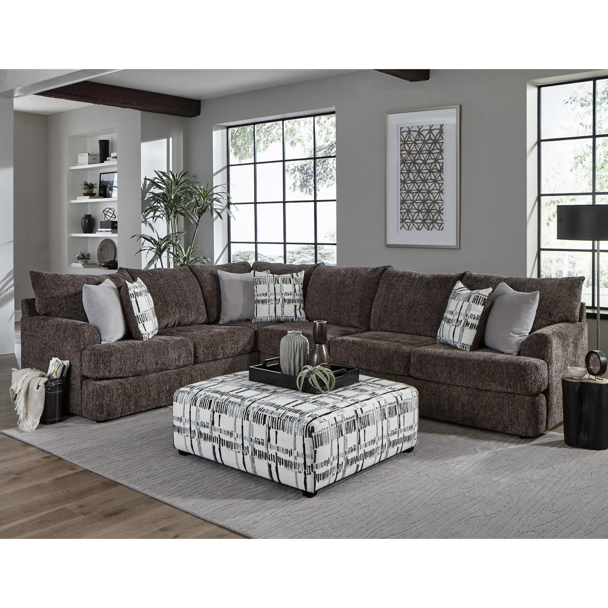 8620 Sectional Sofa by Albany at A1 Furniture & Mattress