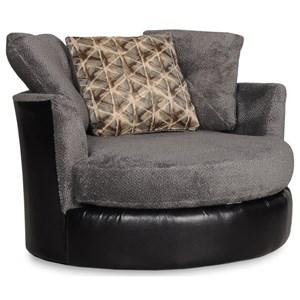 Circular Swivel Chair