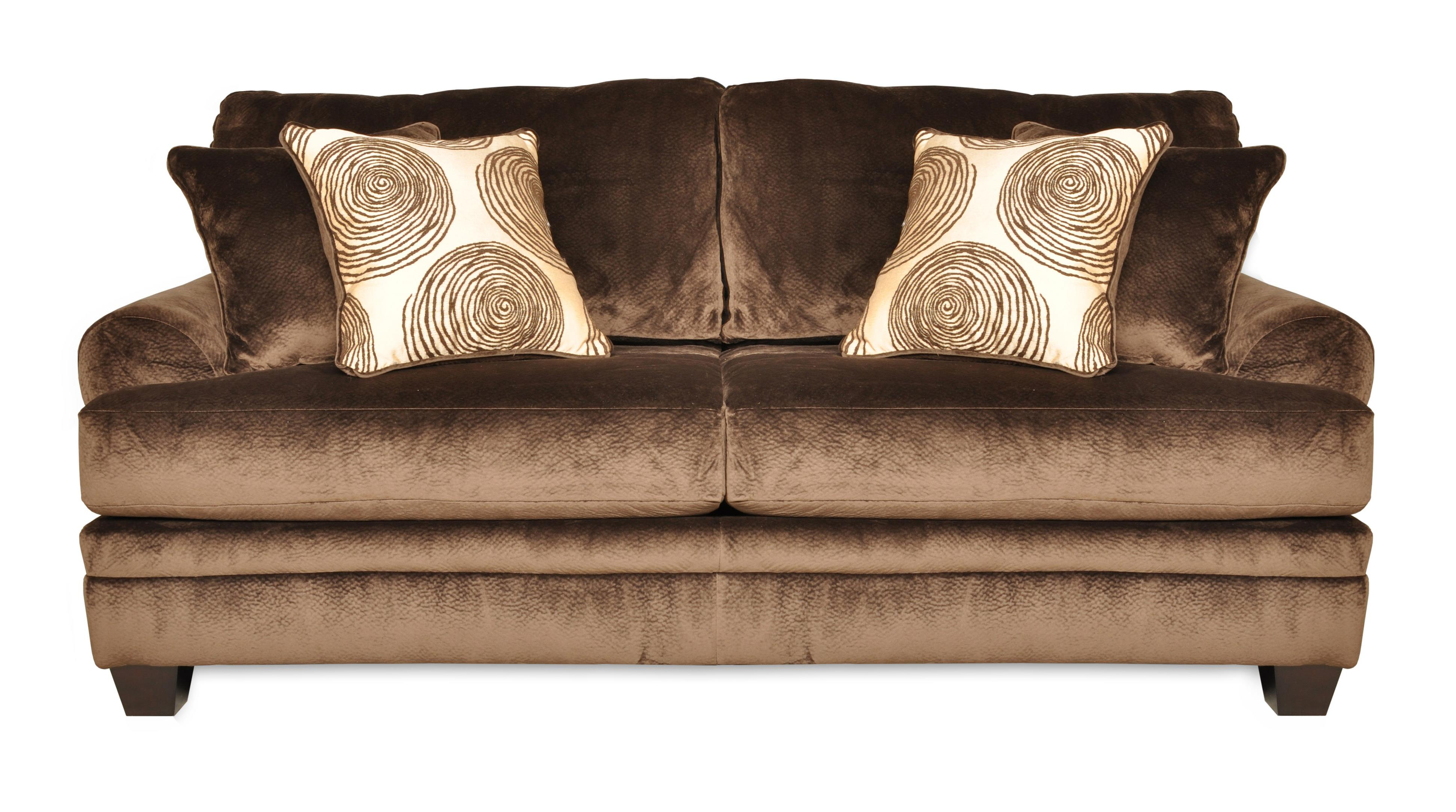 8642 Transitional Stationary Sofa by Albany at A1 Furniture & Mattress