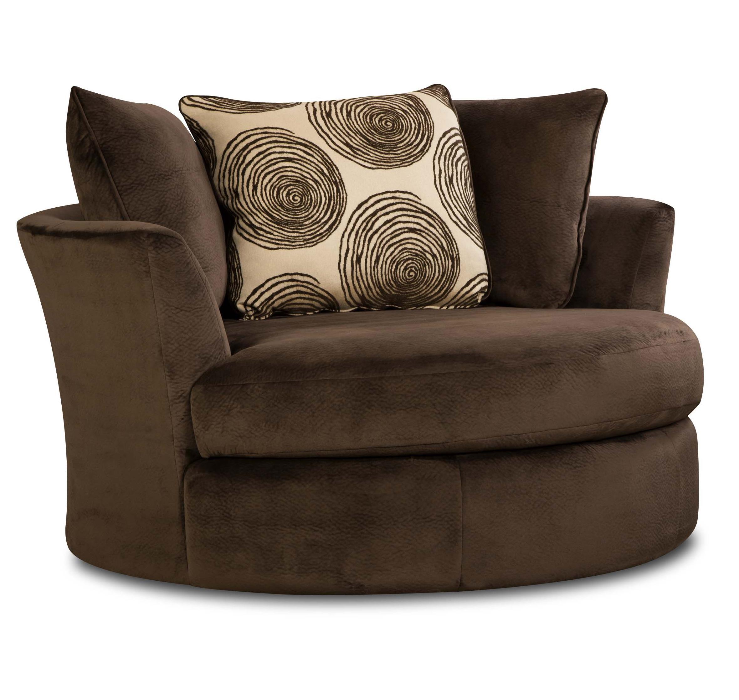 8642 Transitional Swivel Chair by Albany at Furniture Fair - North Carolina