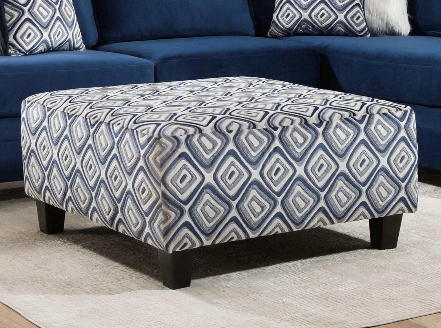 8642 Ottoman by Albany at A1 Furniture & Mattress