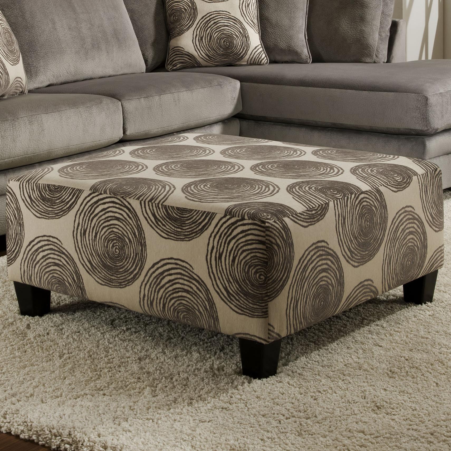 8642 Ottoman by Albany at A1 Furniture & Mattress