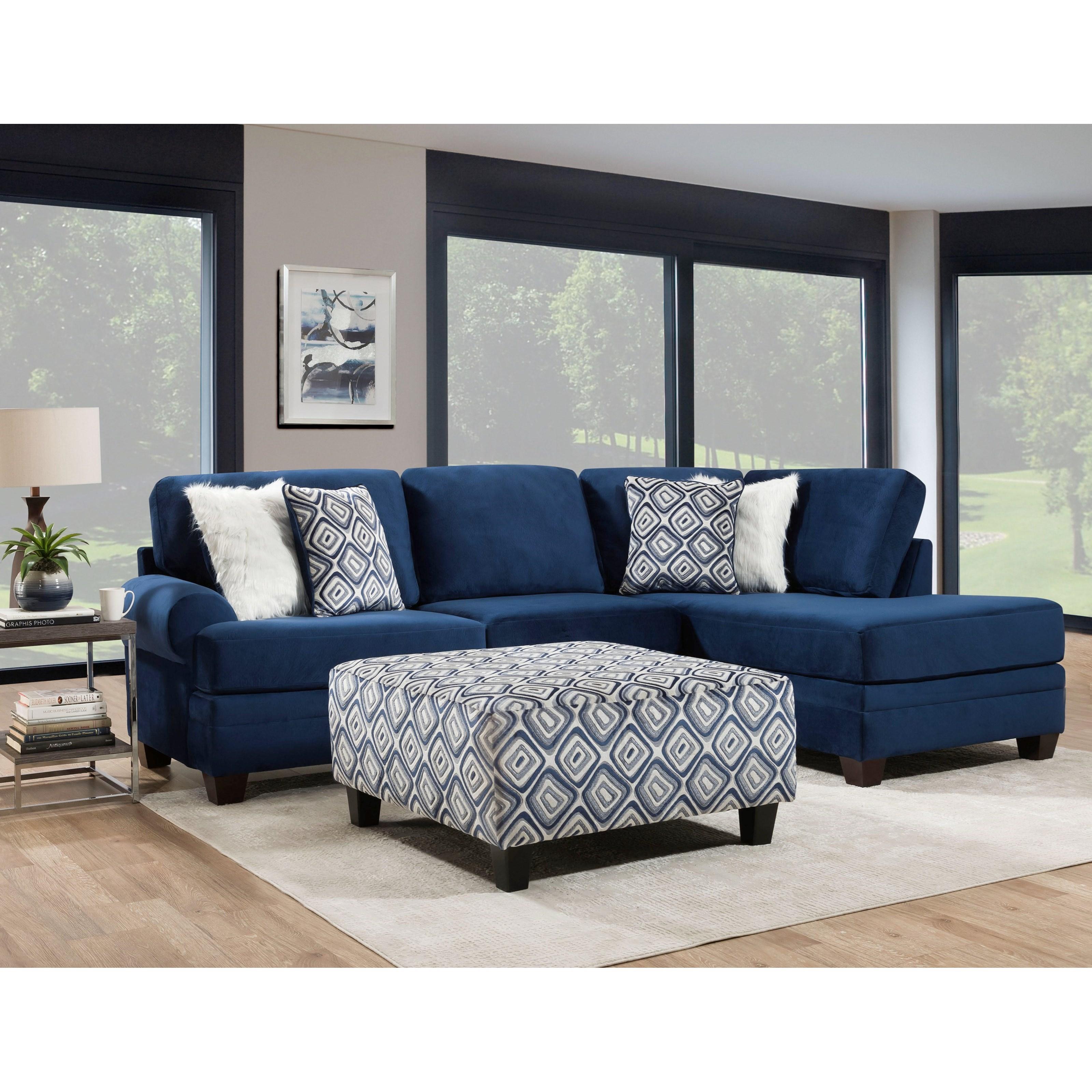 8642 Sectional by Albany at Furniture Fair - North Carolina