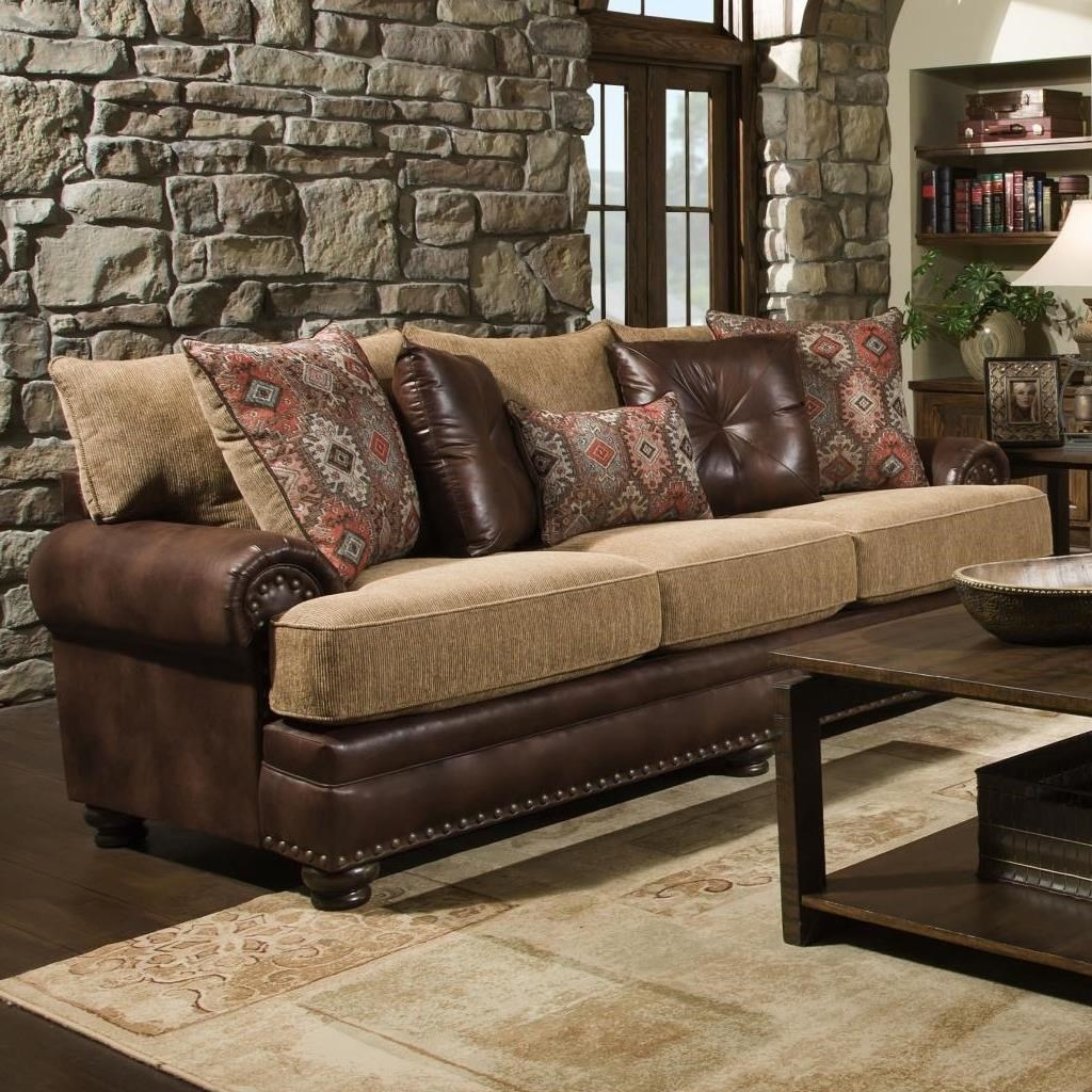 8649 Traditional Sofa by Albany at A1 Furniture & Mattress
