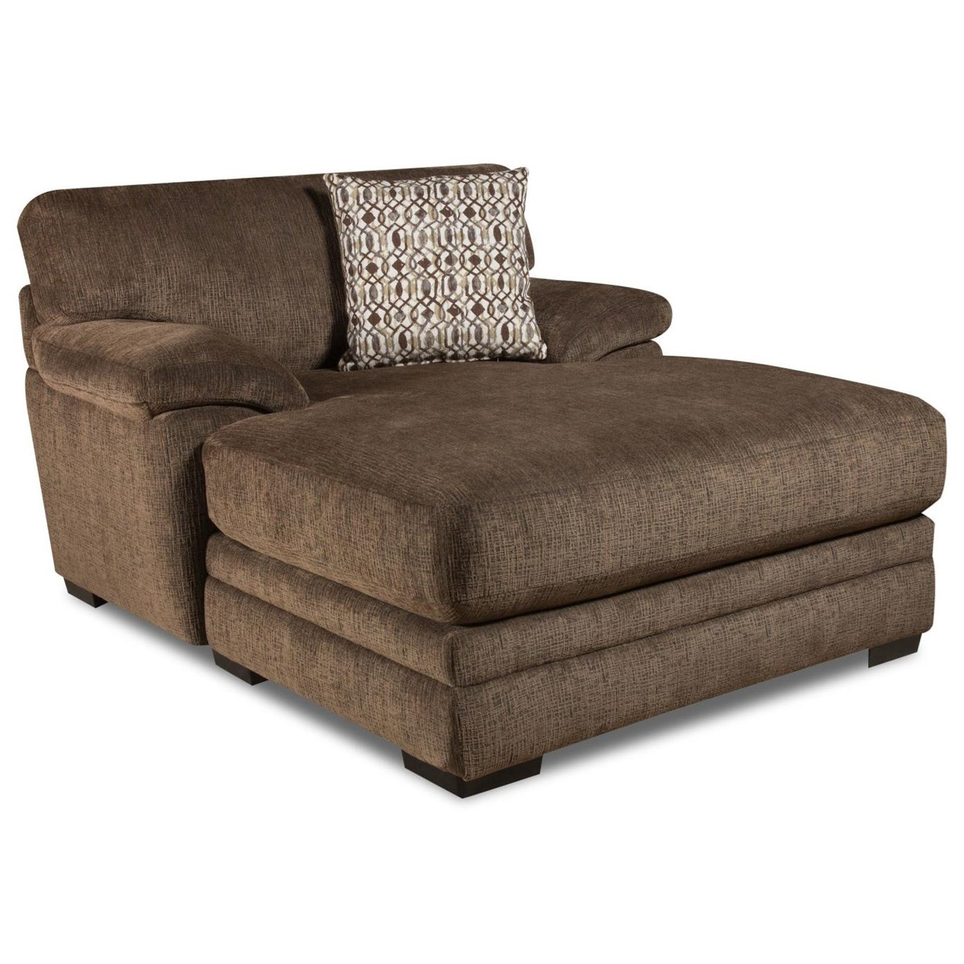 8662 2 Arm Chaise by Albany at A1 Furniture & Mattress