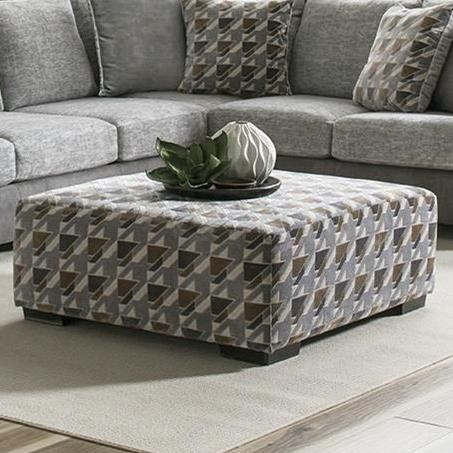 8784 Cocktail Ottoman by Albany at A1 Furniture & Mattress