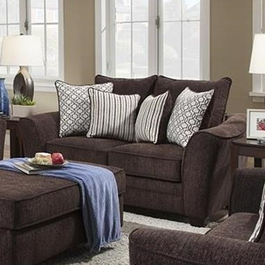 957 Loveseat by Albany at A1 Furniture & Mattress