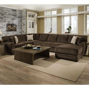 3 Pc Sectional with RAF Chaise