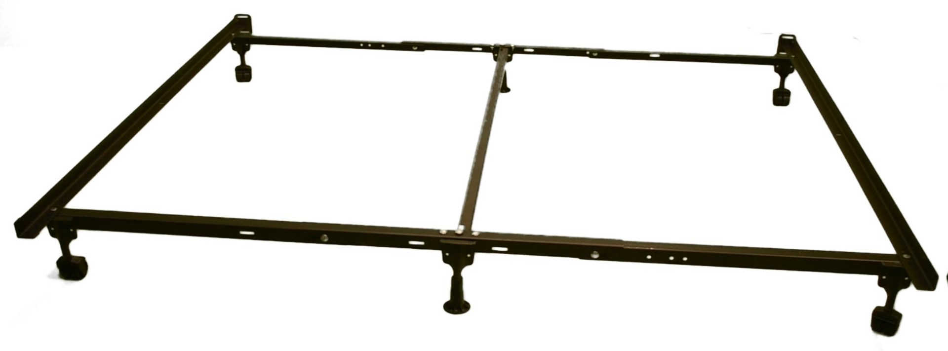 Frames CS522RR Metal Bed Frame-King Size by Albion Industries at Catalog Outlet