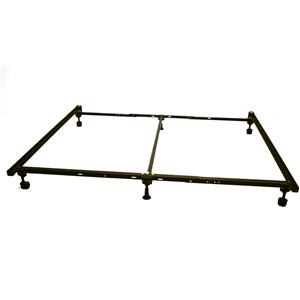 CS522RR Metal Bed Frame-King Size w/ Casters