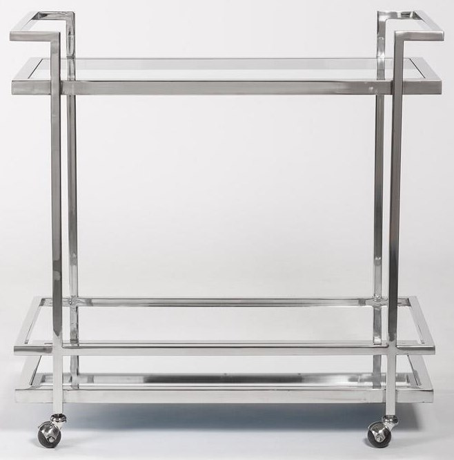 Case Accents Bar Cart by Taylor and Jade at Sprintz Furniture