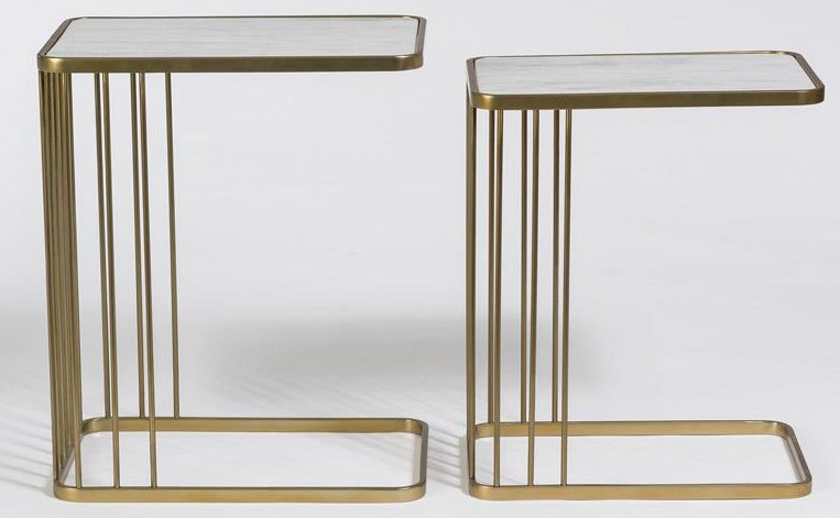 Case Accents Nesting End Tables by Taylor and Jade at Sprintz Furniture