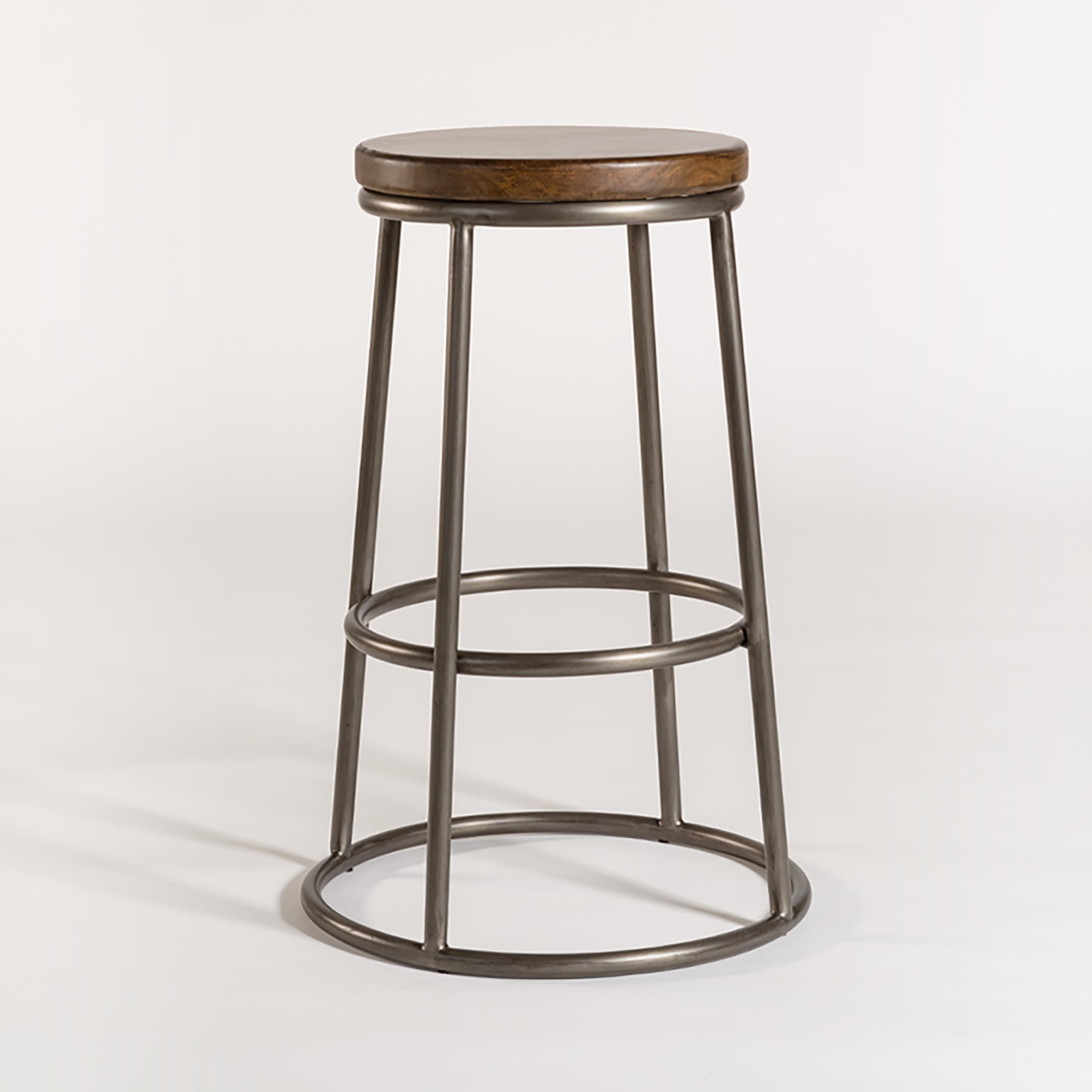 AT006 Barstool by Belfort Leather at Belfort Furniture