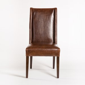 Parsons Style Side Chair with Tapered Legs