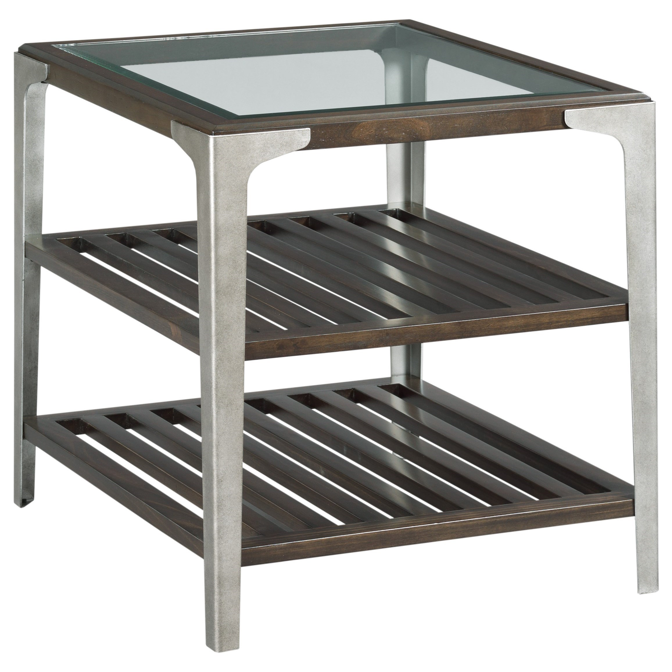 Tranquil Rectangular End Table by Alexvale at Northeast Factory Direct