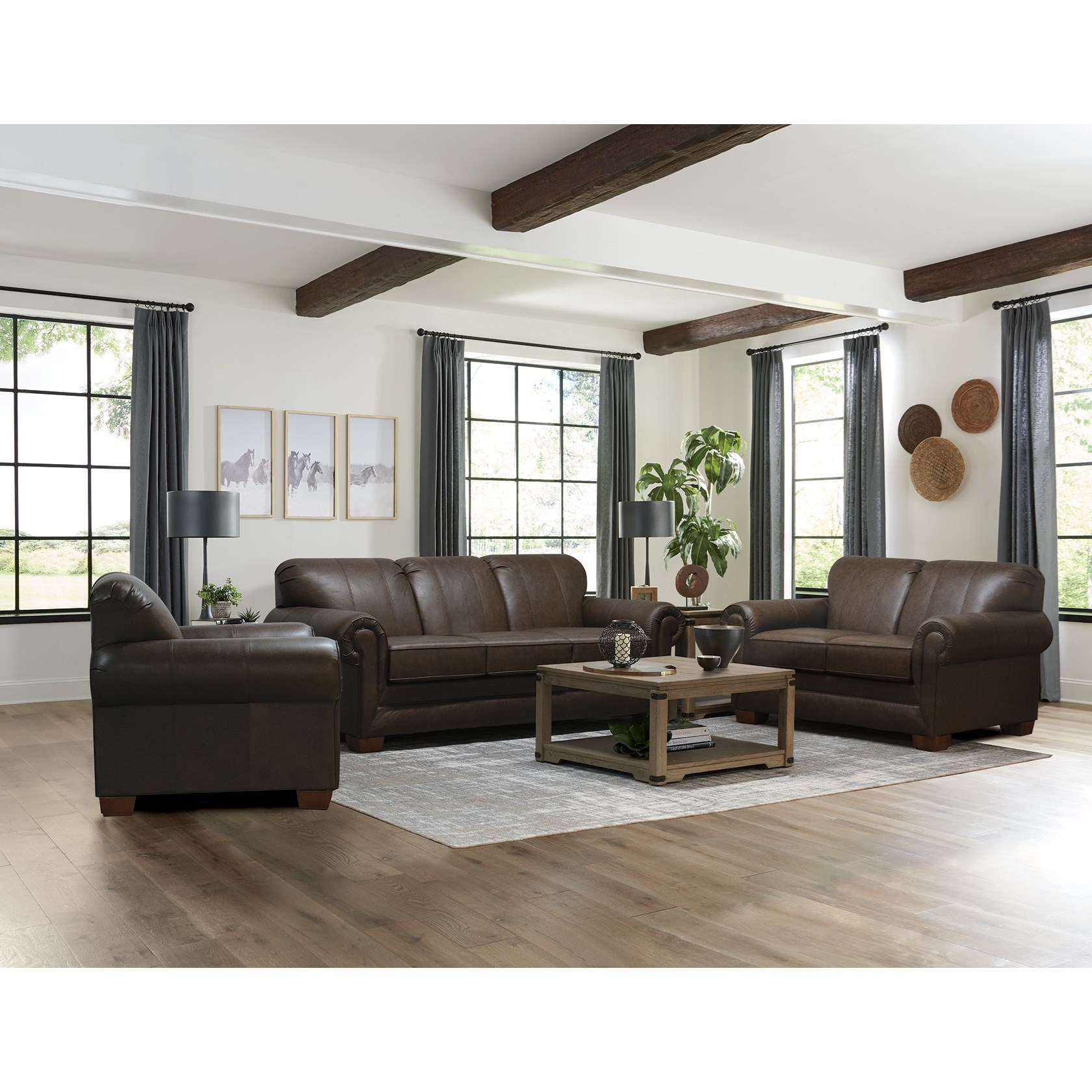 V140 Stationary Living Room Group by Alexvale at Northeast Factory Direct