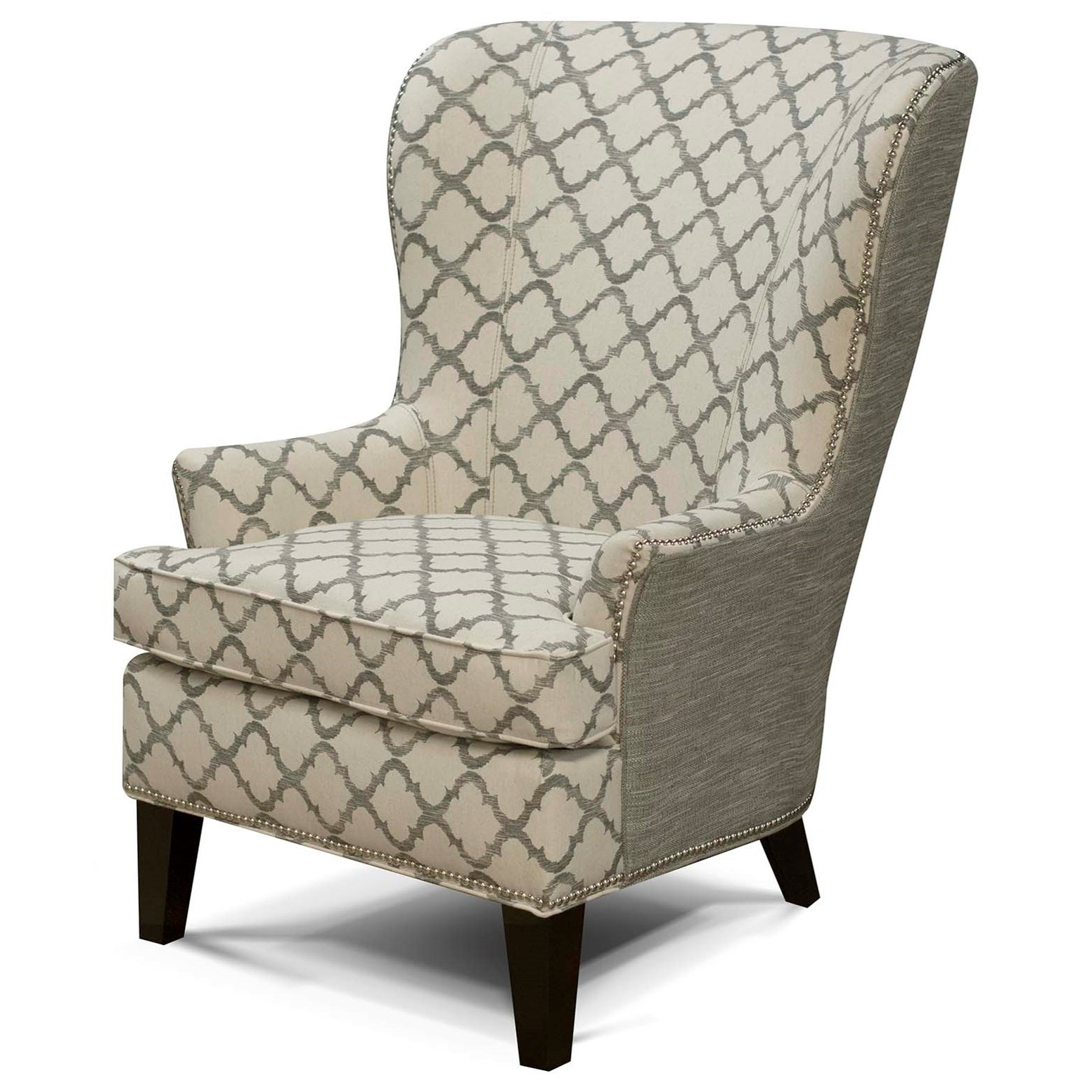 V450 Wing Chair by Alexvale at Northeast Factory Direct
