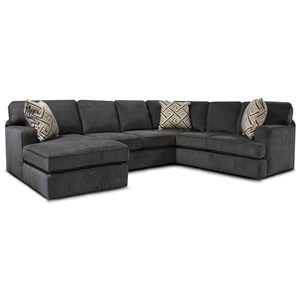 Casual 3-Piece Sectional