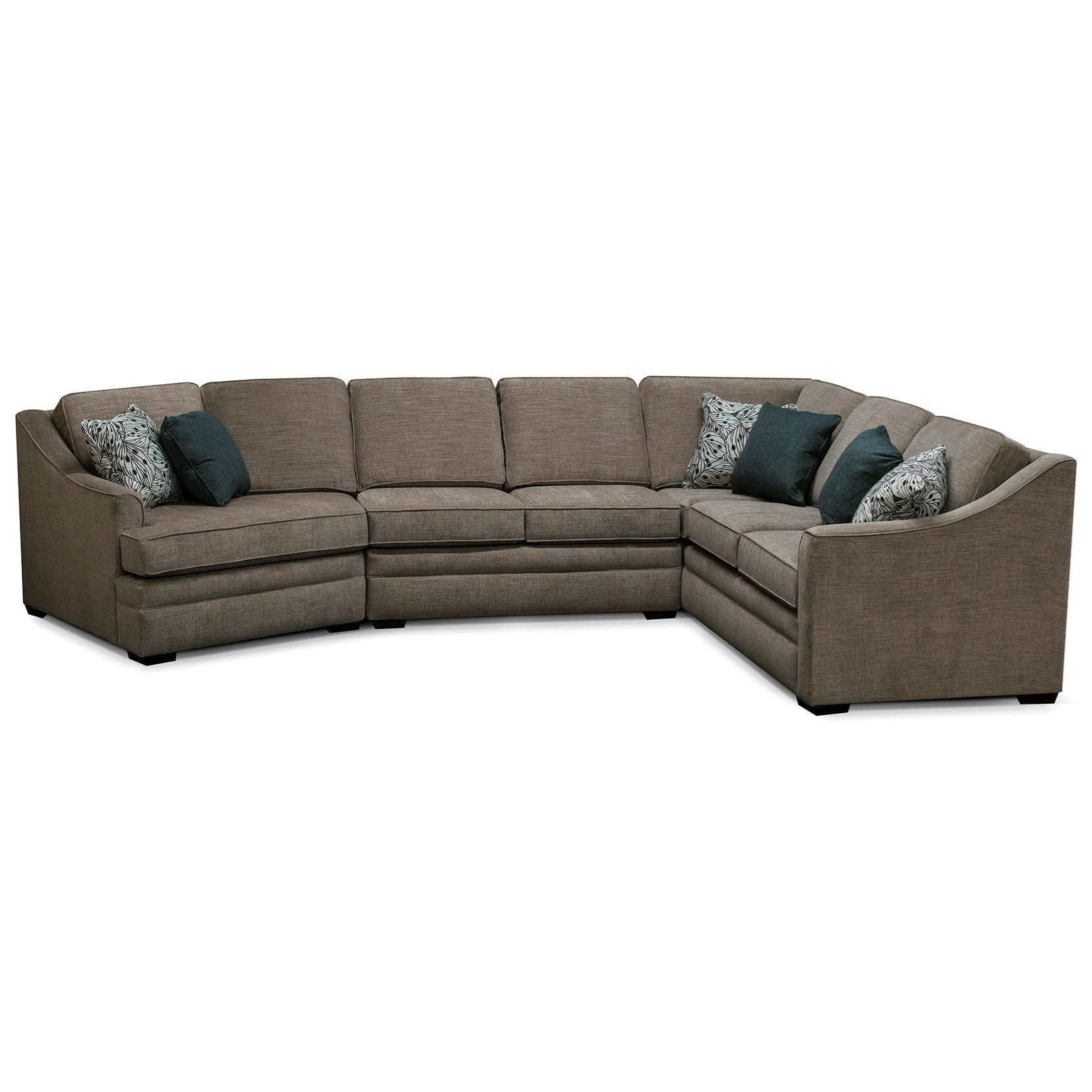 V4T0 3-Piece Sectional by Alexvale at Northeast Factory Direct