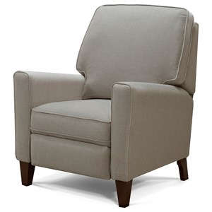 Contemporary Push-Back Recliner