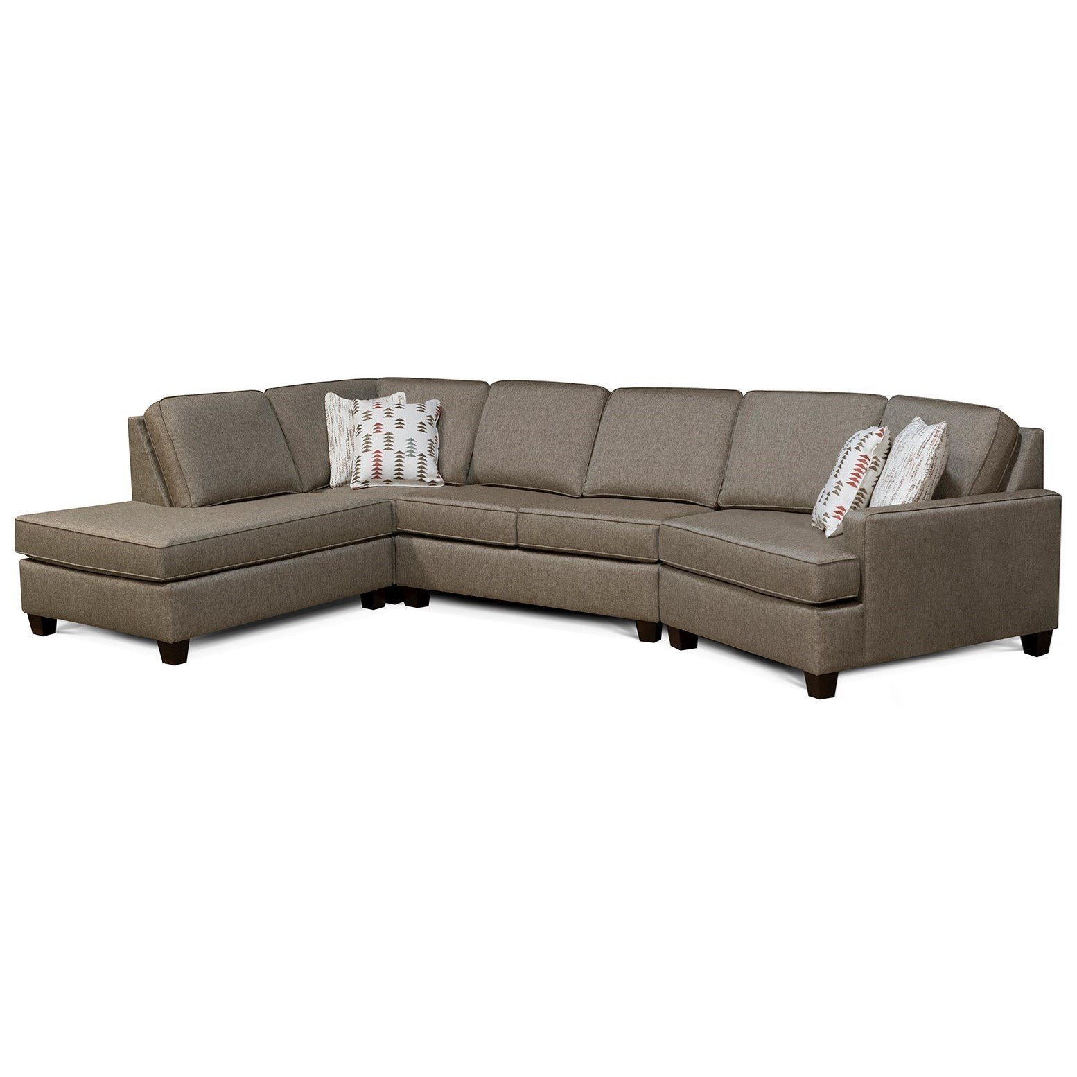 V9D 4-Seat Sectional Sofa w/ LAF Chaise by Alexvale at Turk Furniture