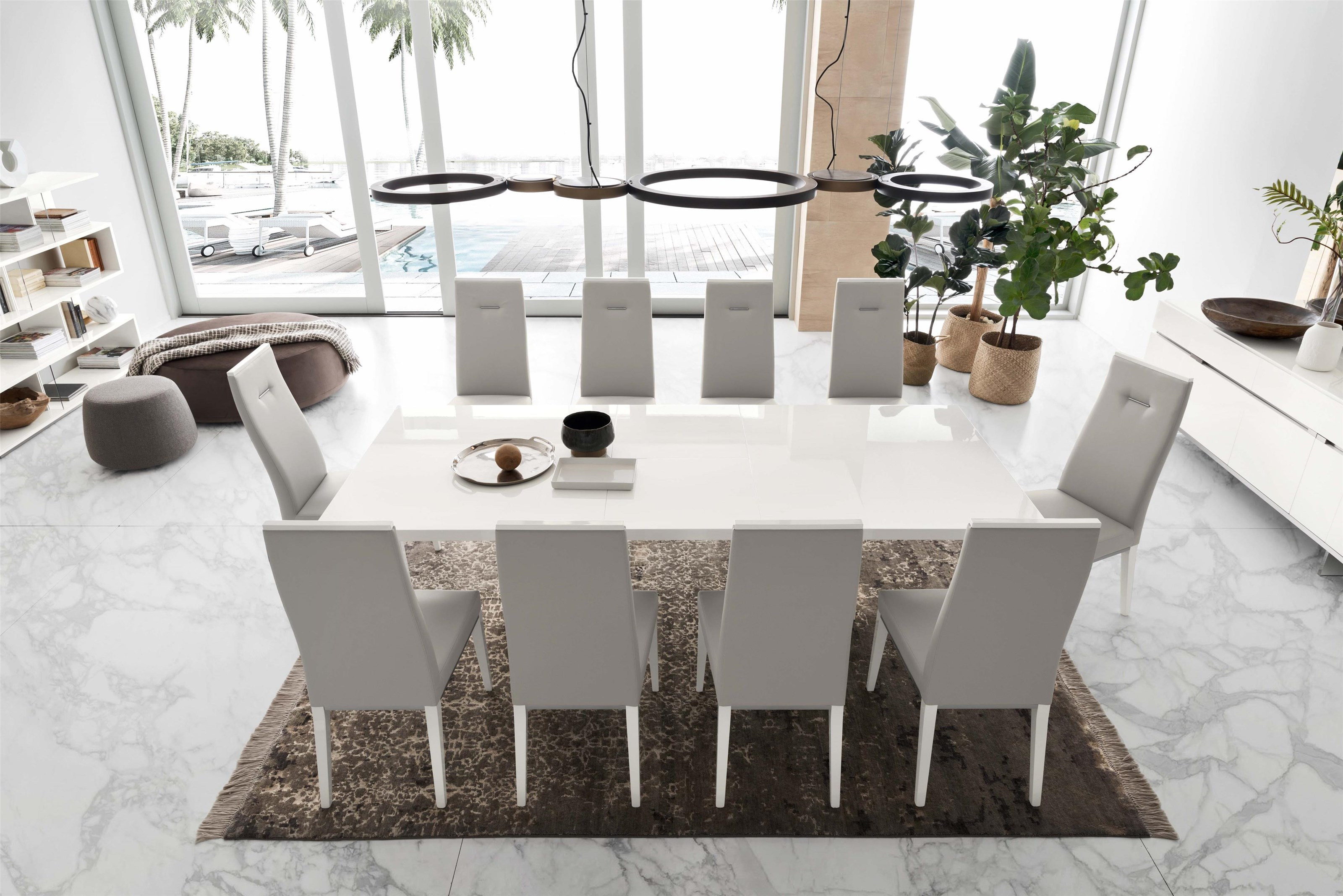 Artemide Dining Large Dining Table by Alf Italia at Stoney Creek Furniture