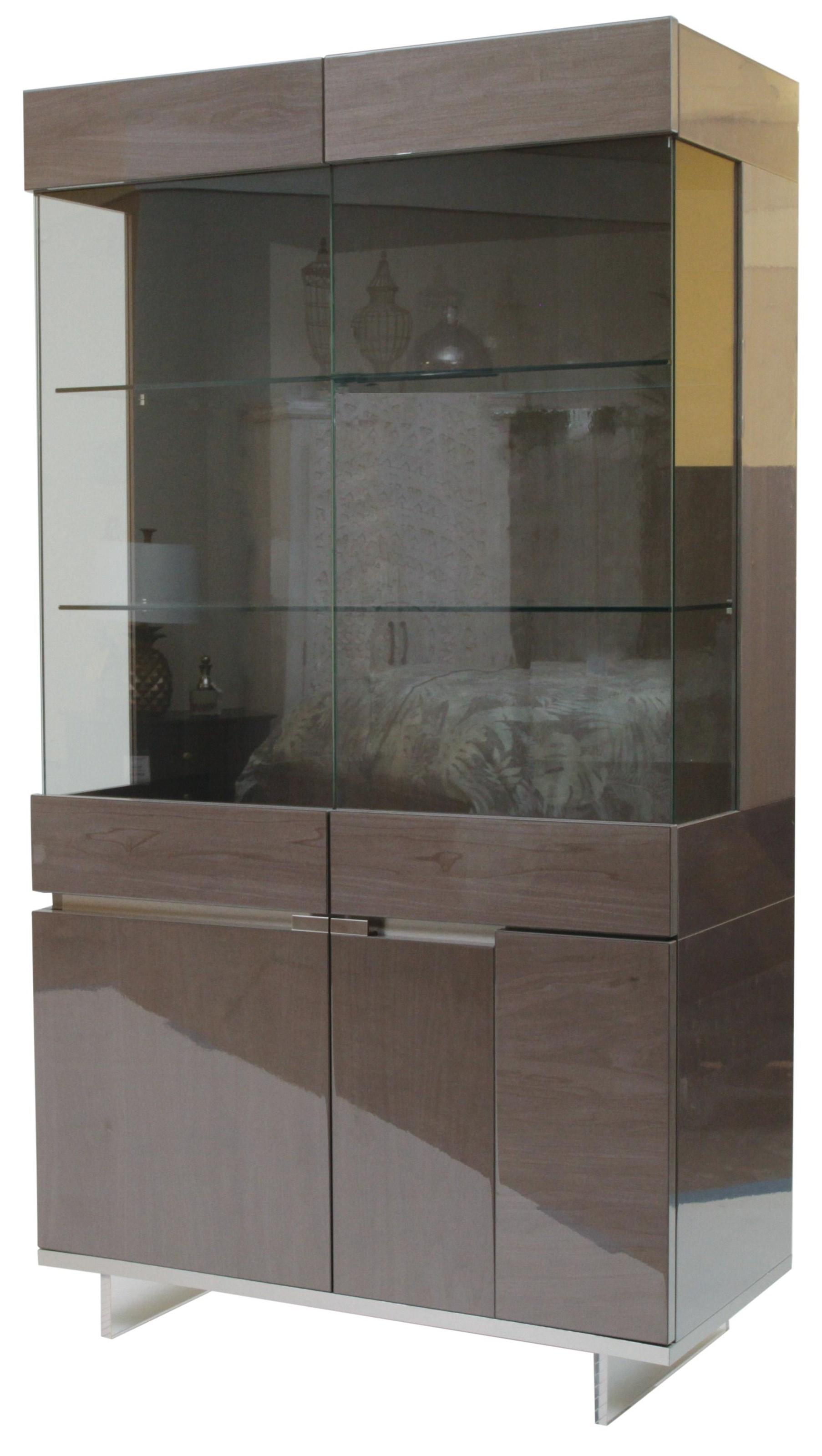 Athena Curio Cabinet by Alf Italia at HomeWorld Furniture