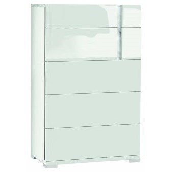 Bianca 5-Drawer Chest by Alf Italia at Stoney Creek Furniture
