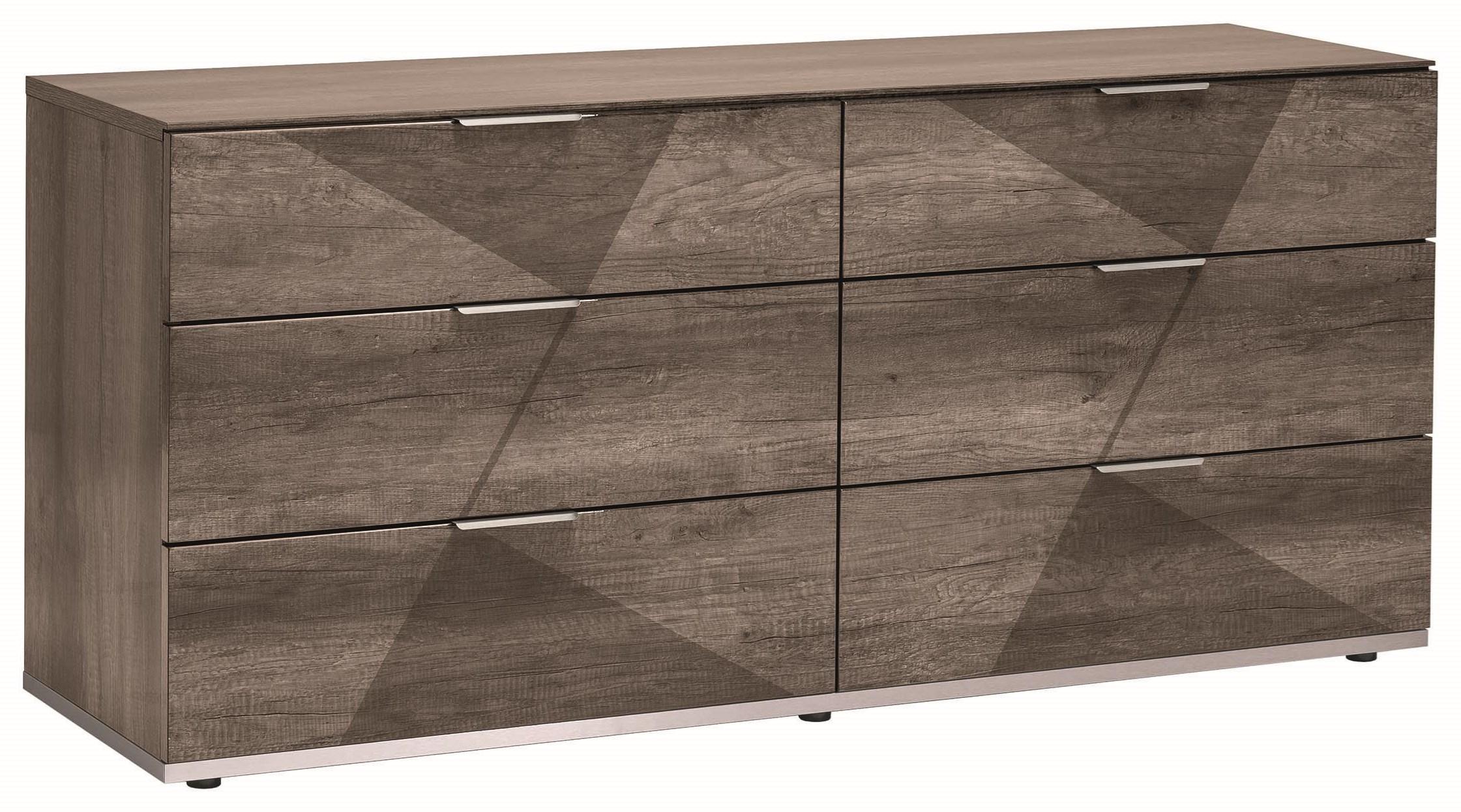 Favignana 6 Drawer Dresser by Alf Italia at HomeWorld Furniture