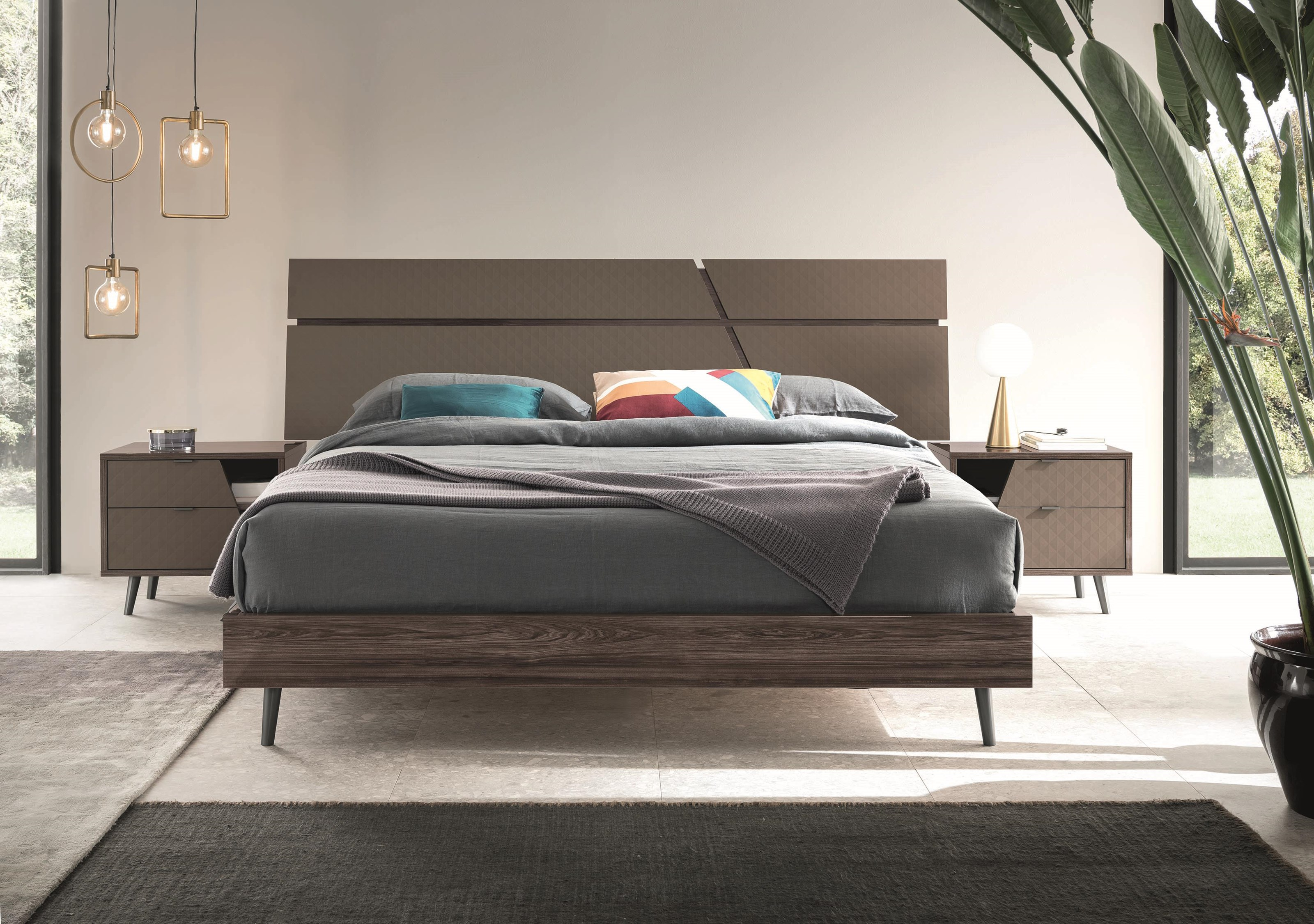 Frida Queen Bed by Alf Italia at HomeWorld Furniture