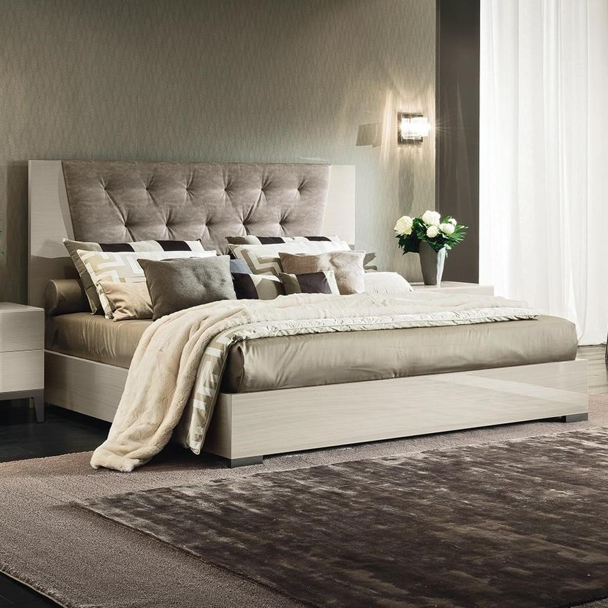 Mont Blanc Queen Upholstered Bed by Alf Italia at Stoney Creek Furniture