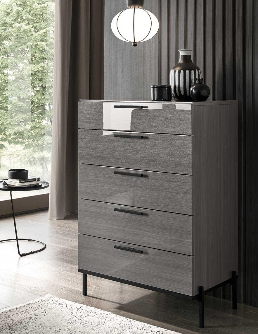 Novecento 5 Drawer Chest by Alf Italia at Red Knot