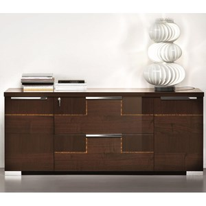 Credenza with 2 Doors and 2 Drawers