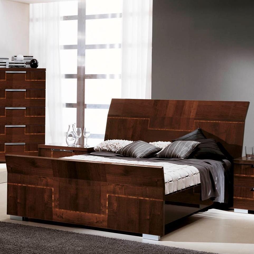 Pisa King Bed by Alf Italia at Stoney Creek Furniture