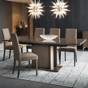 "Vega Dining Table with 18"" Leaf"