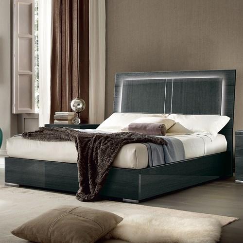 Versilia Modern Queen Bed by Alf Italia at Darvin Furniture