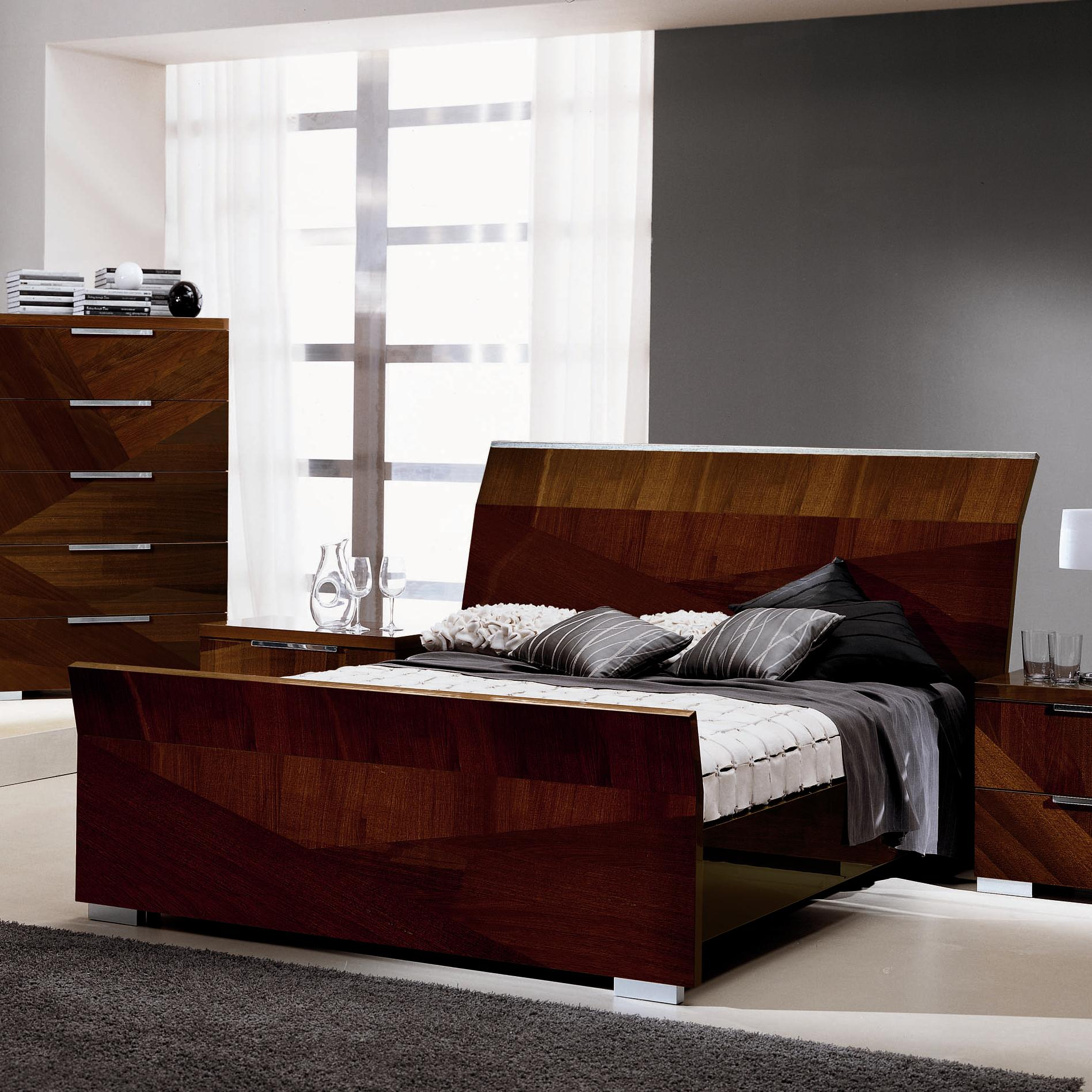 Capri King Bed by Alf Italia at Upper Room Home Furnishings