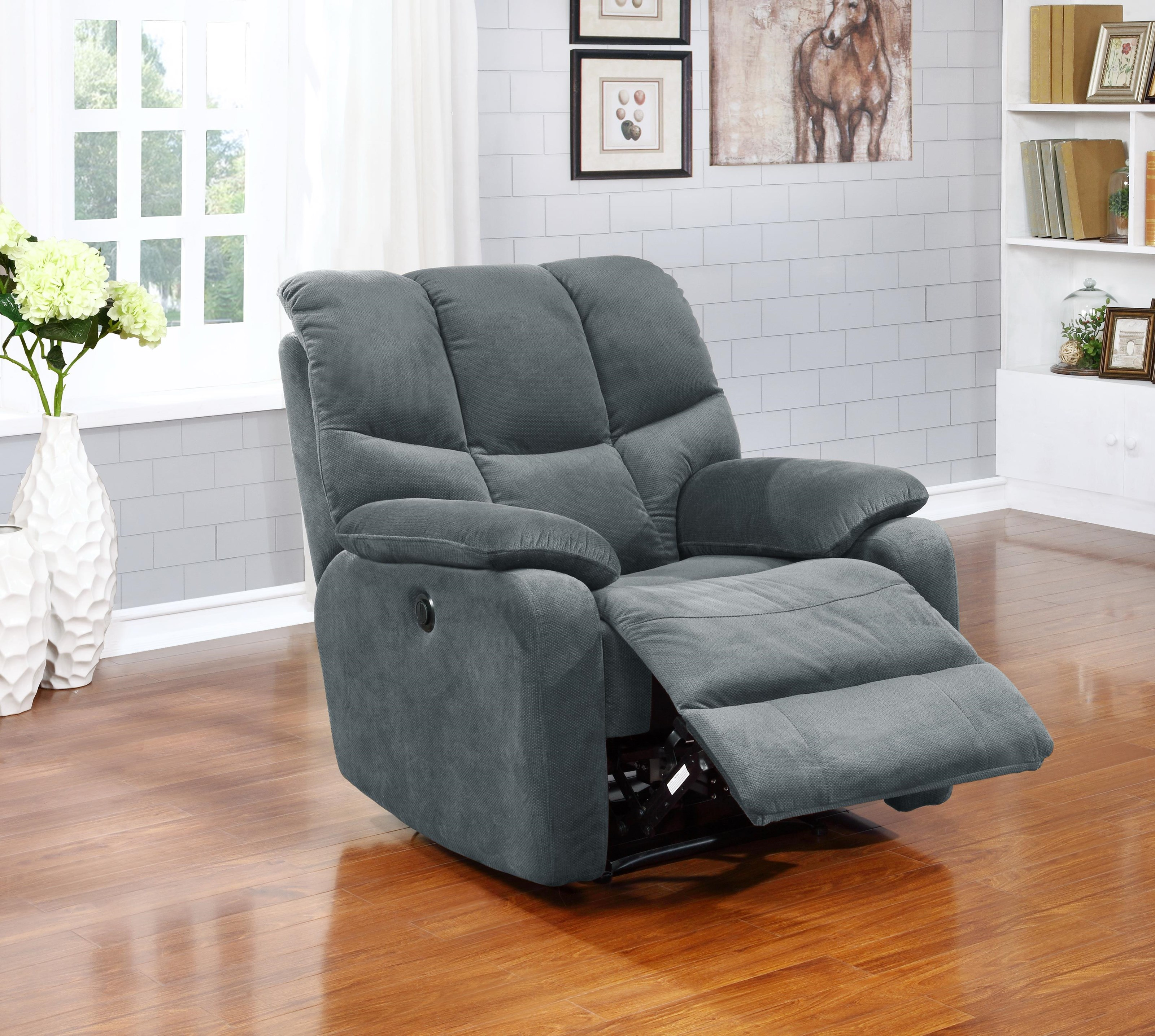 Jerry Power Chaise Recliner by Amalfi Home Furniture at Sam Levitz Furniture