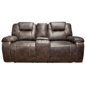 Dual Reclining Console Loveseat