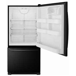 ENERGY STAR® 22 Cu. Ft. Bottom-Freezer Refrigerator with Glide-Out Wire Lower Freezer and QuickSplit Organizer