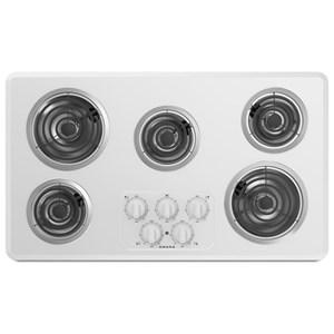 Amana Electric Cooktops - Amana 36-inch Amana® Electric Cooktop