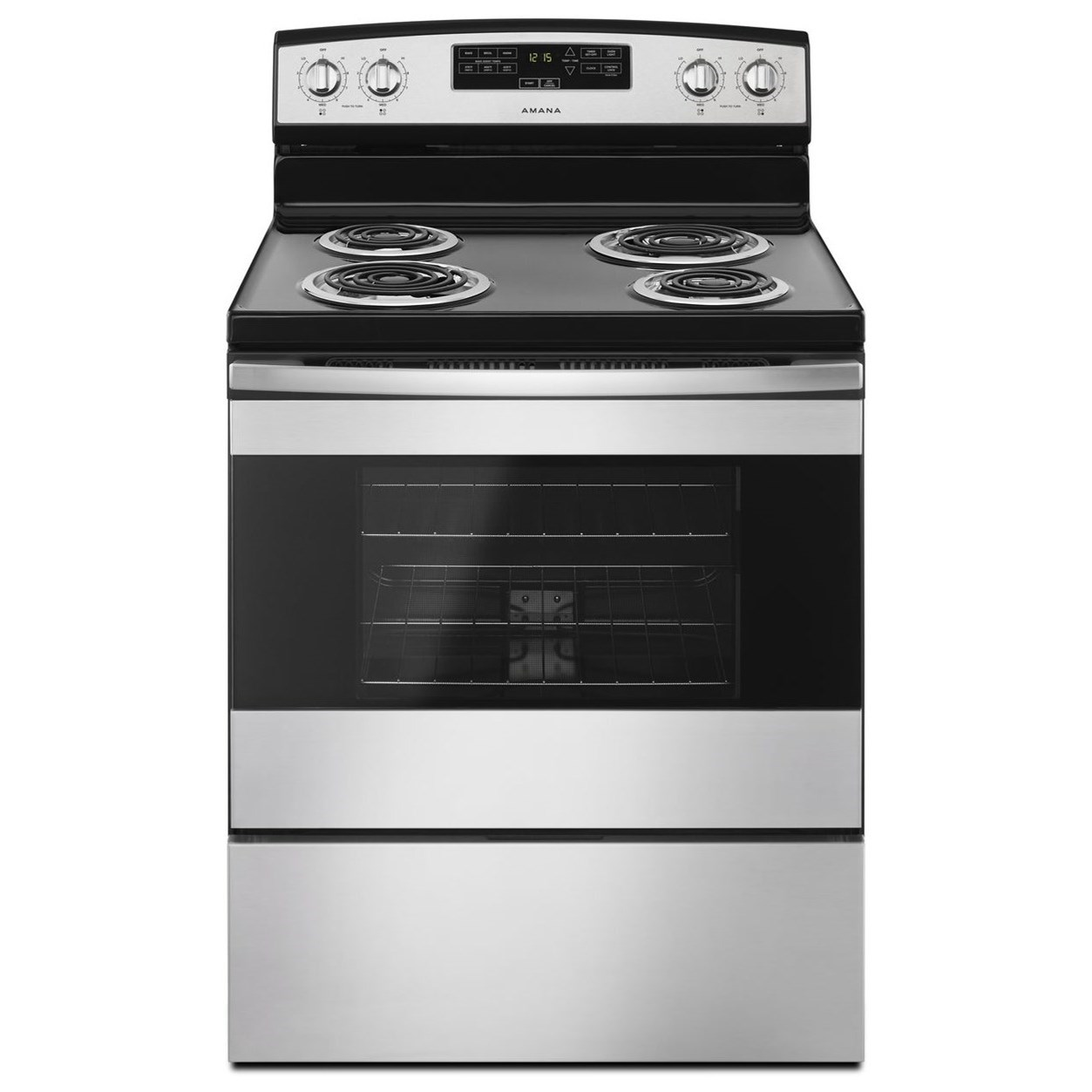 """Electric Ranges - Amana 30""""Electric Range  by Amana at Furniture and ApplianceMart"""