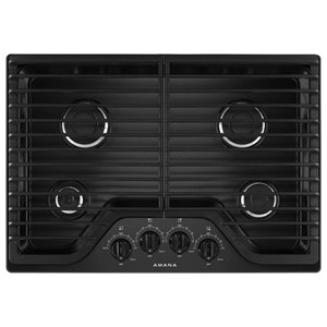 Amana Gas Cooktops - Amana 30-inch Gas Cooktop with 4 Burners